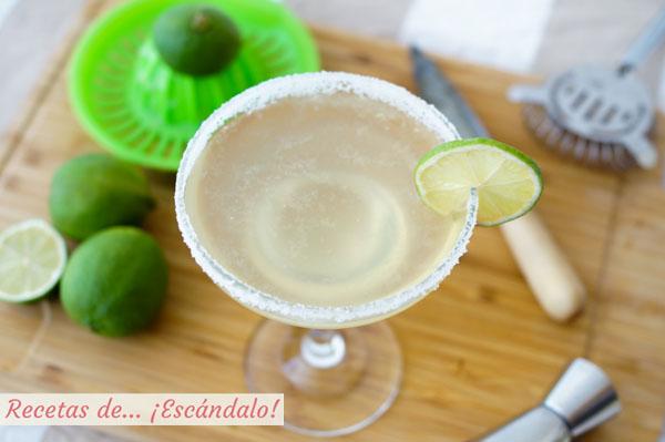 Como preparar el coctel margarita. Receta e ingredientes