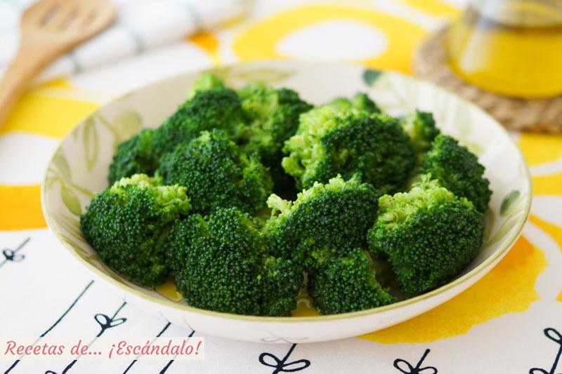 Aprende como cocinar brocoli y que te quede perfecto y riquisimo