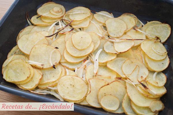 Como hacer patatas asadas al horno