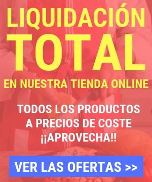 banner tienda online liquidación