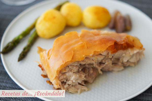 Receta de cochinillo al horno asado con la piel crujiente y carne jugosa y tierna