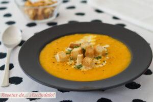 Calabaza y zanahoria, saludable y deliciosa