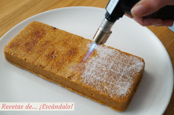 Caramelizar azucar con soplete
