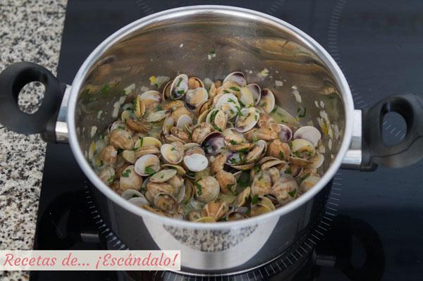Como hacer almejas en salsa verde