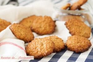 Como hacer galletas de avena caseras y muy faciles. Receta paso a paso