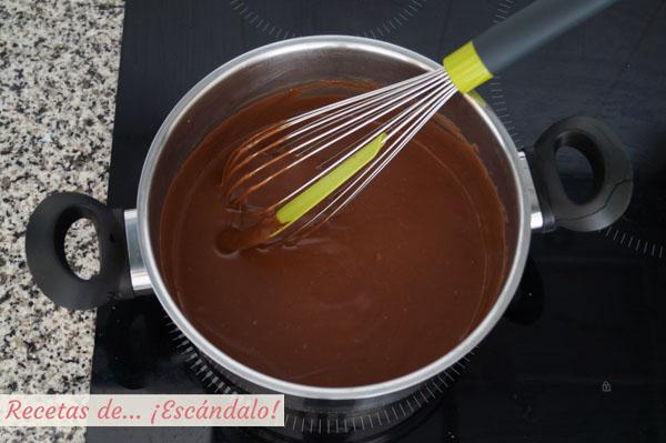 Chocolate para tarta tres chocolates