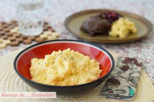 Conoce qué es la polenta y prepara una receta de polenta súper cremosa