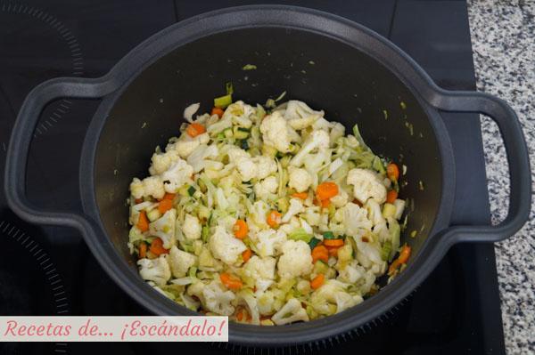 Verduras para la sopa