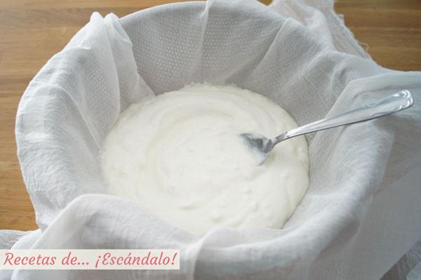 Queso de yogur