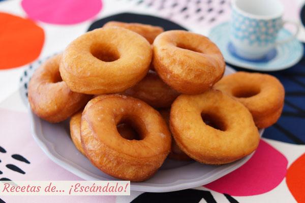 Como hacer donuts caseros tiernos y deliciosos. Receta sencilla paso a paso