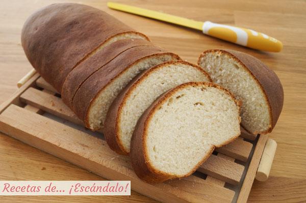Como hacer pan casero para torrijas