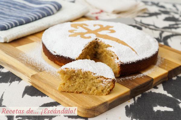 Receta de Tarta de Santiago casera y tradicional
