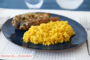Risotto a la milanesa con azafrán, una receta italiana deliciosa