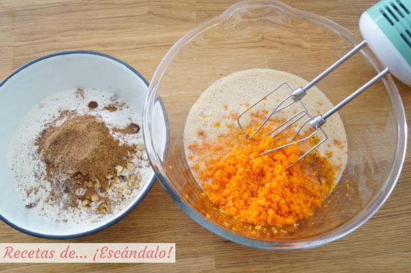 Como hacer pastel de zanahoria
