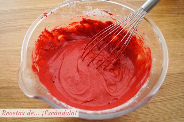 Masa para tarta Red Velvet