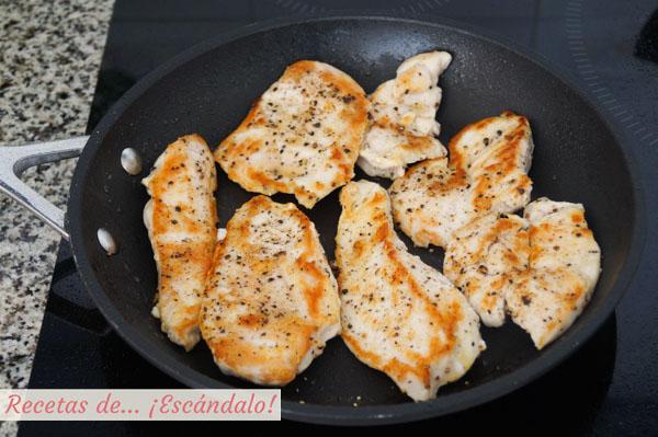 Pollo para tacos