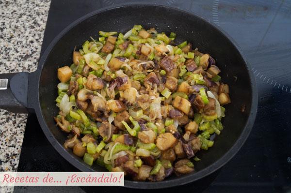 Receta de caponata siciliana de verduras