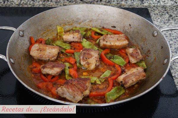 Ingredientes arroz con costillas