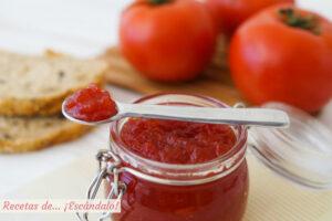Cómo hacer mermelada de tomate casera. Receta muy fácil