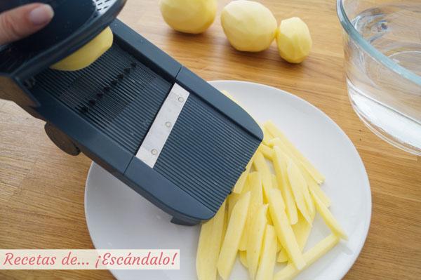 Patatas fritas al horno saludables