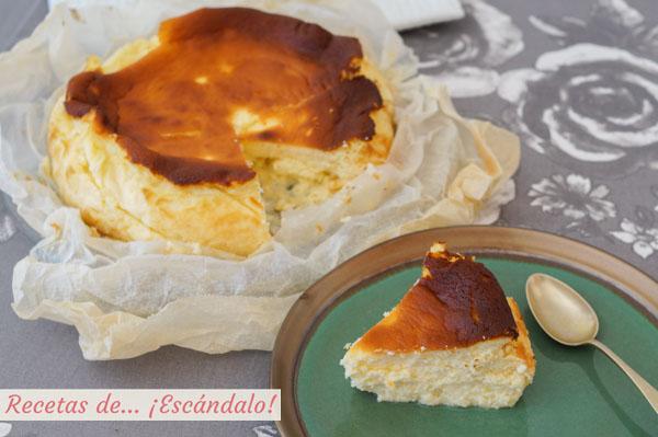 Como hacer la tarta de queso de la Vina