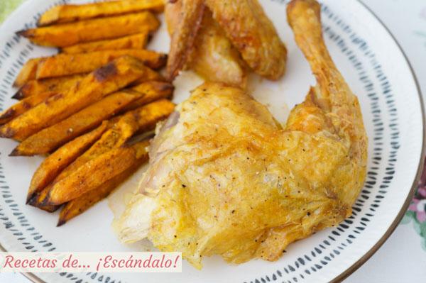 Como hacer pollo al ast o last en casa, el mas rico y jugoso pollo asado