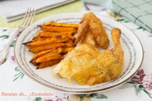 Pollo al ast o last en casa, el mas rico y jugoso pollo asado