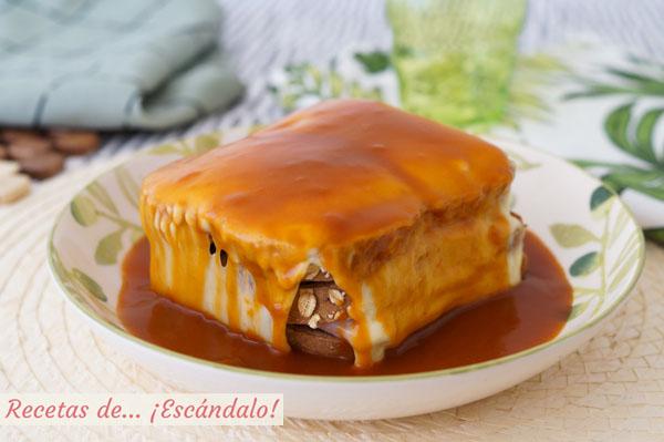 Receta de francesinha, el contundente sandwich tipico de Oporto