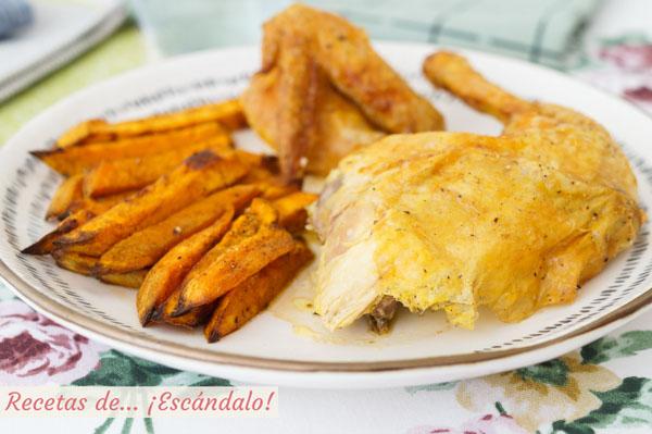 Receta de pollo al ast o last en casa, el mas rico y jugoso pollo asado