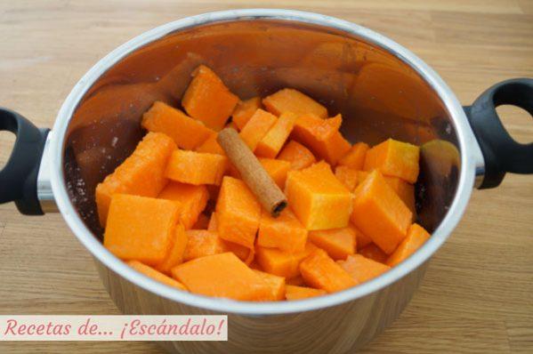 Ingredientes mermelada de calabaza casera