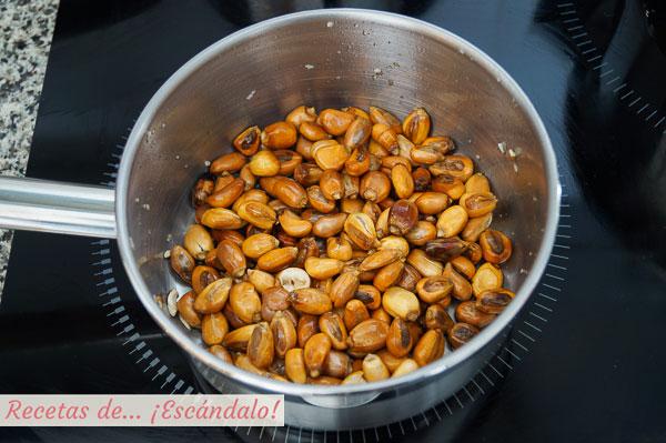 Maiz cancha cocinado