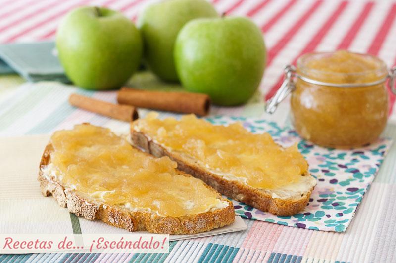 Mermelada De Manzana Casera Con Canela Receta Sencilla Y Deliciosa