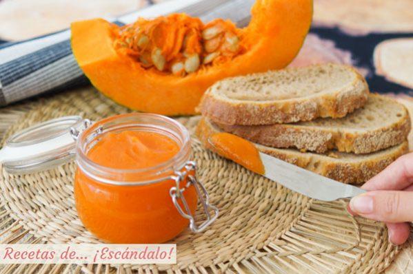 Receta de mermelada de calabaza con canela, facil y aromatica