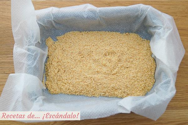Almendra molida tostada