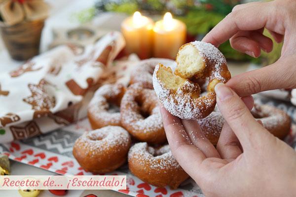 Receta de rosquillas de anis caseras y riquisimas