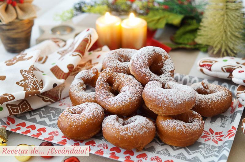 Rosquillas de anis caseras y riquisimas