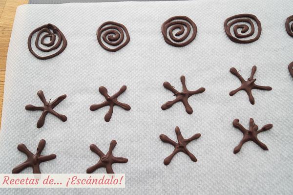 Figuras de chocolate