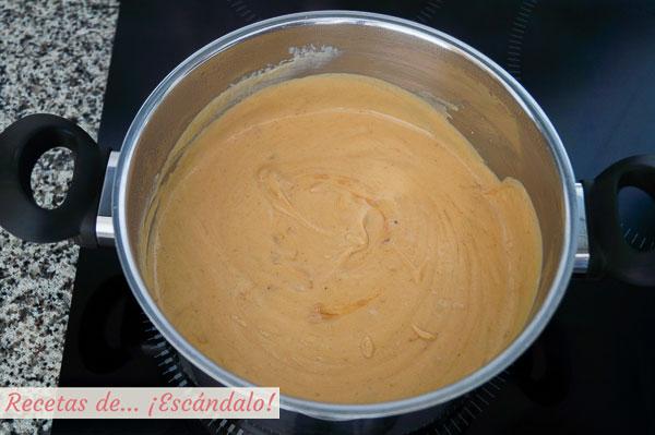 Mezcla para tarta de turron blando