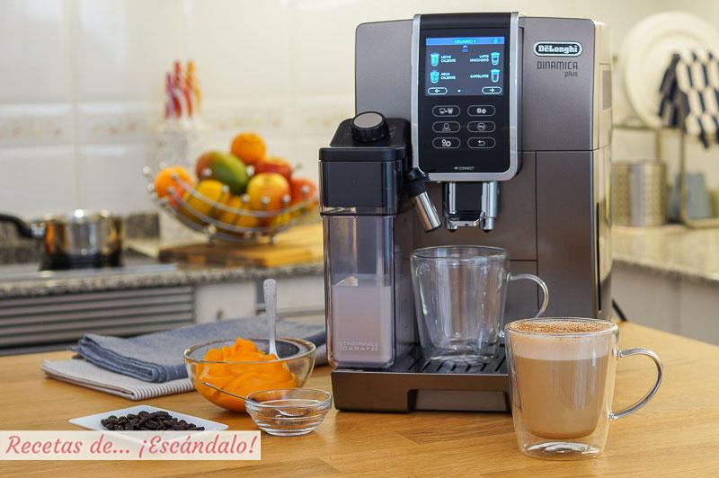 Pumpkin spice latte o cafe con calabaza y especias, riquisimo