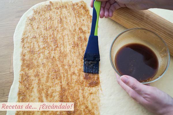Relleno para rollitos de canela o cinnamon rolls