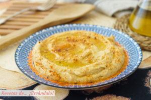 Hummus con Thermomix, el mas rico y cremoso