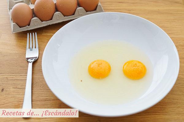 Huevos para tortilla