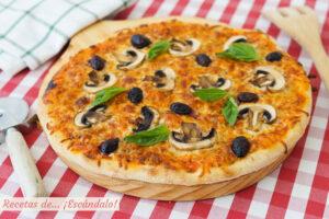 Masa de pizza en Thermomix. Casera, riquisima y facil
