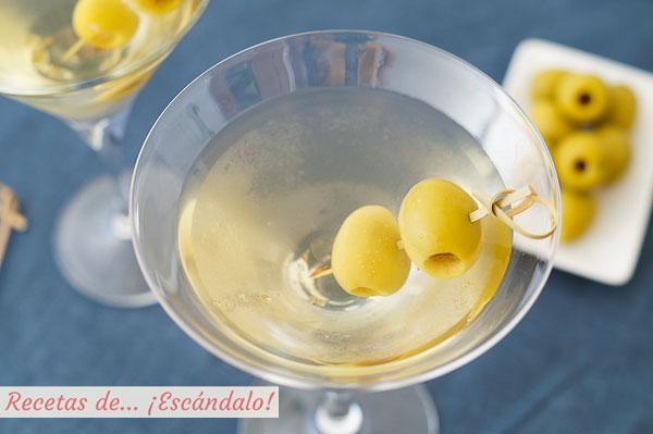 Como hacer Martini, Dry Martini o Martini seco, un coctel exquisito y sencillo