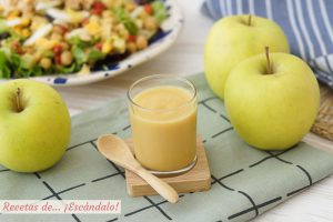 Vinagreta de manzana, un alino original y delicioso para ensaladas