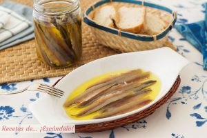 Anchoas caseras en salazon. Receta de un aperitivo ideal
