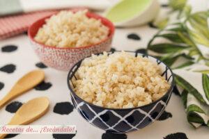 Cómo preparar arroz integral y que quede sabroso y suelto