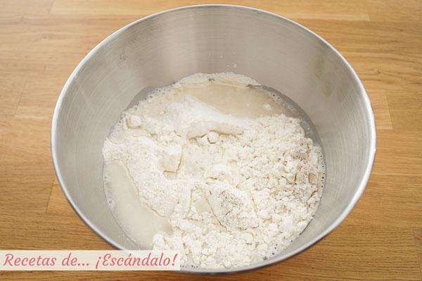 Ingredientes pan pita
