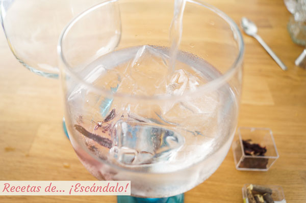 Tonica para gin tonic