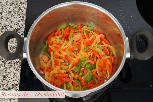 Verduras para ketchup
